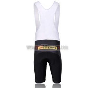 2011 Team LIVESTRONG Riding Bib Shorts Yellow Black