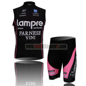 2011 Team Lampre FARNESE VINI Cycling Vest Kit