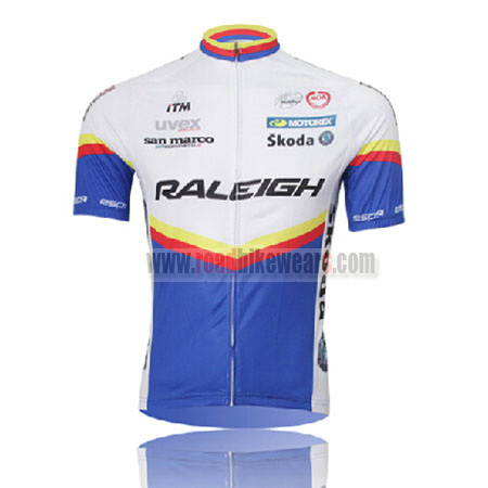 2011 Team RALEIGH Road Bike Wear Riding Jersey Top Shirt Maillot ... be180c243