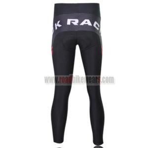 2011 Team ROCK RACING Biking Long Pants Black White Red