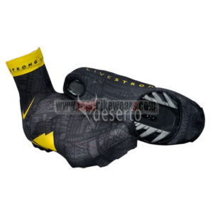 2012 LIVESTRONG Cycling Shoes Cover Black Yellow