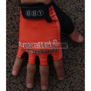 2012 Team Euskaltel Cycling Gloves Mitts Orange