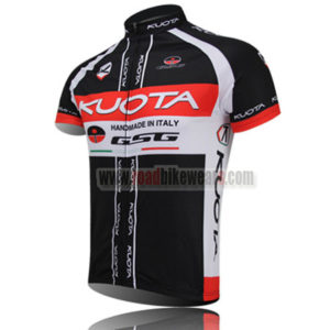 2012 Team KUOTA Bike Jersey Black Red