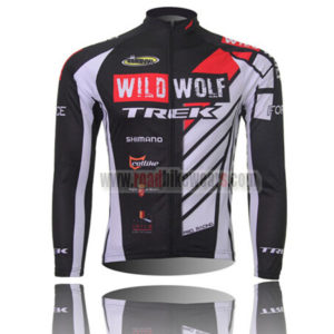 28bd3360c 2012 Team WILDWOLF TREK Cycling Long Jersey