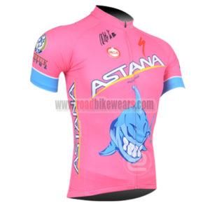 2013 Team ASTANA Bicycle Jersey Pink