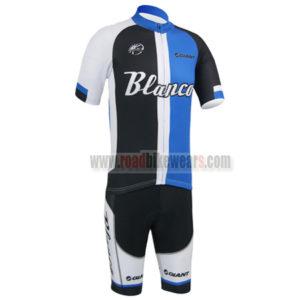 2013 Team Blanco GIANT Bicycle Kit Black Blue