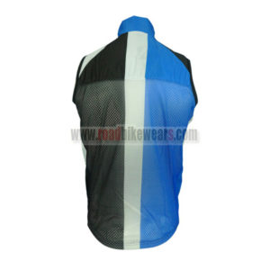 2013 Team Blanco GIANT Riding Vest Sleeveless Waistcoat Rain-proof Windbreak Blue Black