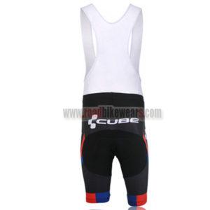 2013 Team CUBE Riding Bib Shorts Black