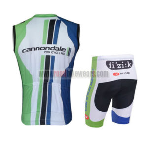 2013 Team Cannondale Pro Bike Sleeveless Kit