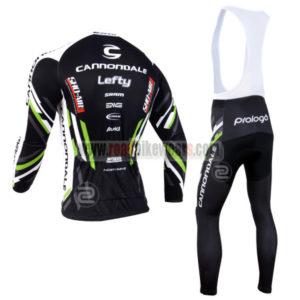 2013 Team Cannondale Riding Long Bib Kit Black
