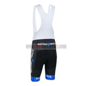 2013 Team Cervelo Spider tech Cycling Bib Shorts Black Blue