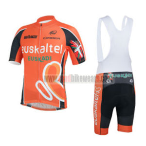 057cd3519 2013 Team Euskaltel EUSKADI Biking Uniform Cycle Jersey and Padded Bib Shorts  Roupas Bicicleta