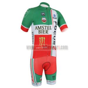 2013 Team FOCUS Bicycle Kit Green Red