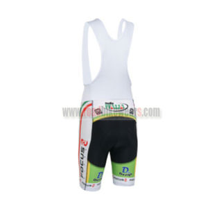 2013 Team FOCUS Cycling Bib Shorts Black White