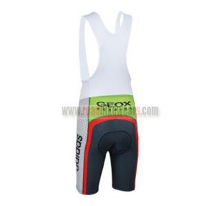 2013 Team GEOX RedBull Cycling Bib Shorts Grey Red