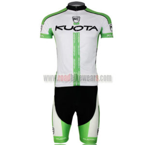 2013 Team KUOTA Bike Kit White Green