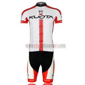 2013 Team KUOTA Bike Kit White Red