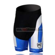 2013 Team KUOTA Cycling Shorts White Blue