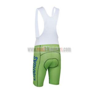 2013 Team LIQUIGAS SAXO BANK Cycling Bib Shorts Green