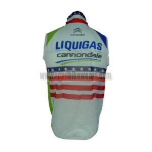 2013 Team LIQUIGAS cannondale Riding Vest Sleeveless Waistcoat Rain-proof Windbreak
