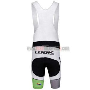 2013 Team LOOK Riding Bib Kit Black White
