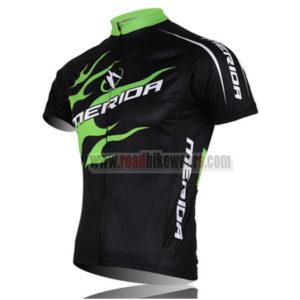 2013 Team MERIDA Bike Jersey Black Green