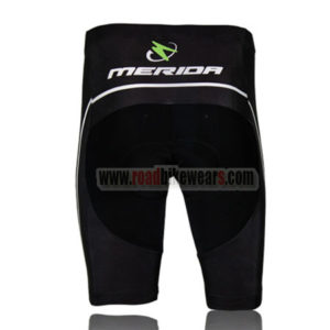 2013 Team MERIDA Bike Shorts Black Green