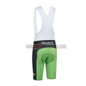 2013 Team Mtn Dew Riding Bib Shorts Black Green