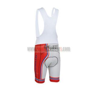 2013 Team PINARELLO Cycling Bib Shorts White Red Blue
