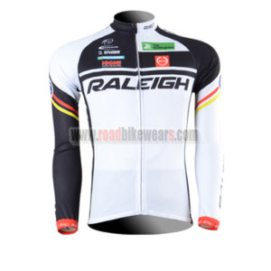 2013 Team RALEIGH Racing Apparel Biking Long Sleeves Jersey Shirt Maillot 2223d501b