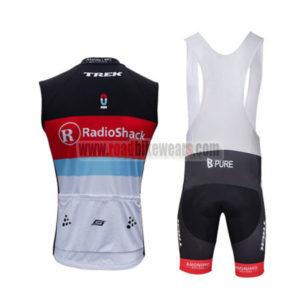 2013 Team Radioshack Pro Bicycle Sleeveless Bib Kit
