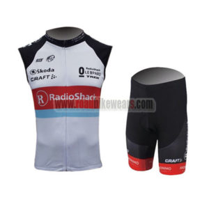 2013 Team Radioshack Pro Riding Sleeveless Kit