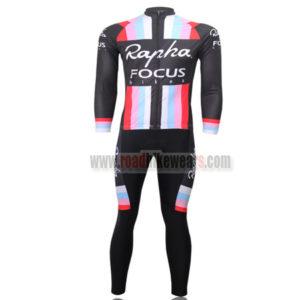 2013 Team Rapha FOCUS Cycle Long Kit Black