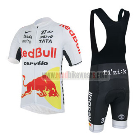 Cycling Skinsuits · Cycling T-shirts. Search for. 2013 Team RedBull cervelo  Riding Bib Kit White Red 8c0b95d9f