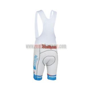 2013 Team Rothaus Cycling Bib Shorts White Blue