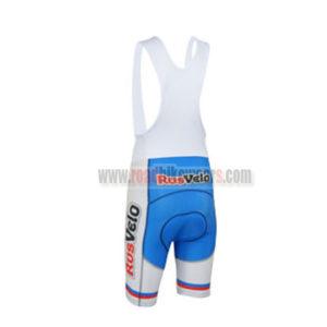 2013 Team RusVelo Cycling Bib Shorts Red White Blue