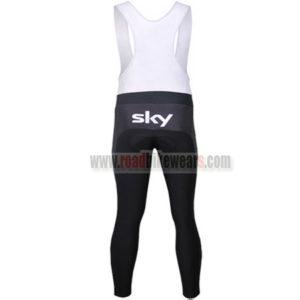 2013 Team SKY Champion Riding Long Bib Pants White