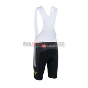 2013 Team SKY Pro Cycling Bib Shorts Black Yellow