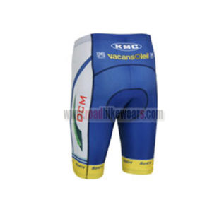 2013 Team Vacansoleil DCM Pro Cycle Clothing Biking Padded Shorts Bottoms  Ciclismo Roupas Blue 75dc297bd