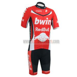 2013 Team bwin RedBull Bicycle Kit Red