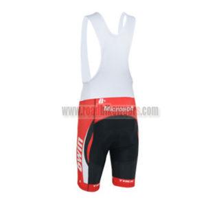 2013 Team bwin RedBull Cycling Bib Shorts Red