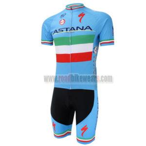 2014 ASTANA Bicycle Kit Blue