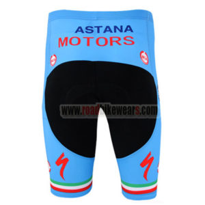 2014 ASTANA Bicycle Shorts Blue