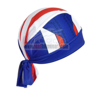 2014 Captain America Bicycle Bandana Head Scarf Blue