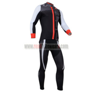 2014 Castelli Cycle Long Kit Black White