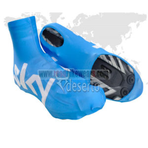 2014 SKY Cycling Shoes Covers Blue