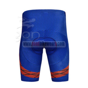 2014 Spider Man Riding Shorts Red Blue