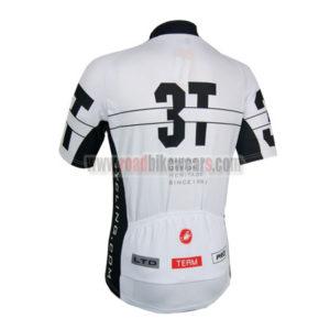 2014 Team 3T Castelli Bicycle Jersey White Black