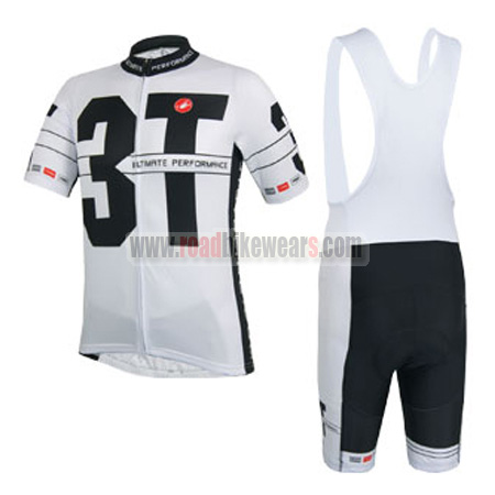 2014 Team 3T Castelli Pro Biking Uniform Cycle Jersey and Padded Bib ... 9e43be25a