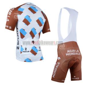 2014 Team AG2R LA MONDIALE Cycle Bib Kit